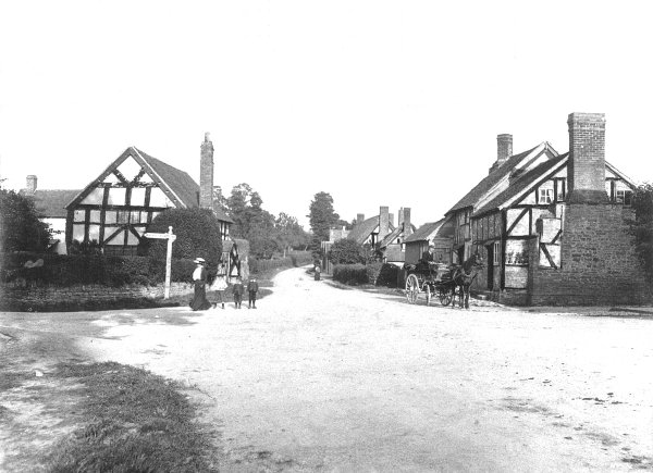 Bosbury Crossroads at a later date
