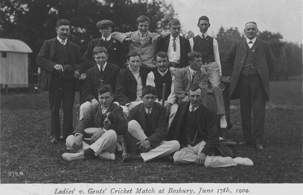 1909 gents cricket team