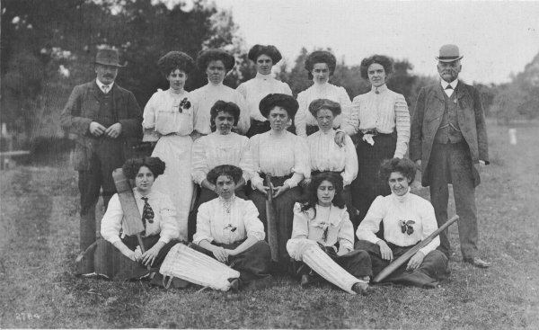 1909 ladies cricket team