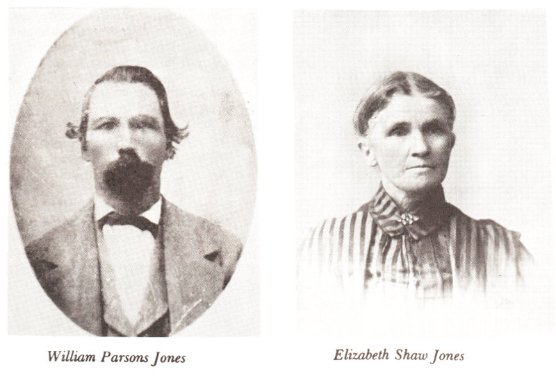 William and Elizabeth Jones