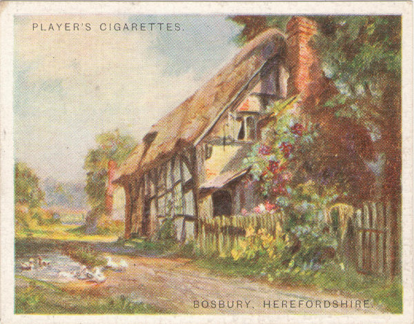 Players cigarette card